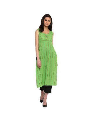 Green Khesh Tunic