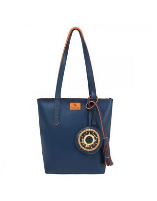 Blue Mini Tote Bag