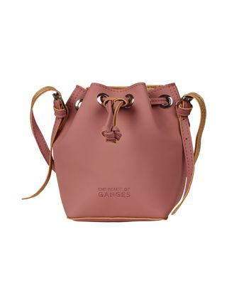 Mallow pink bucket bag