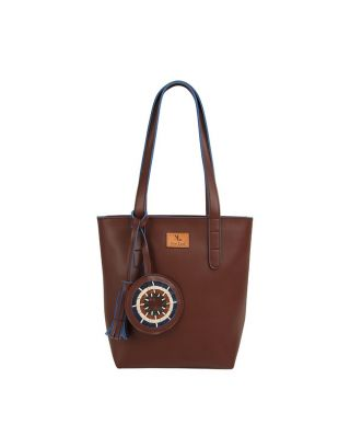 Brown Mini Tote Bag