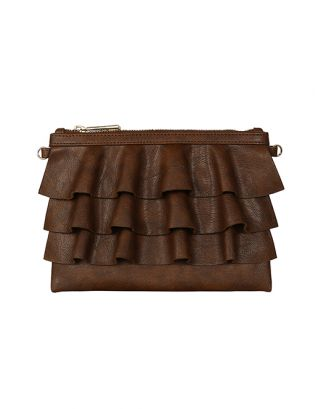 Tan brown small sling bag