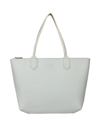 Ice blue tote bag