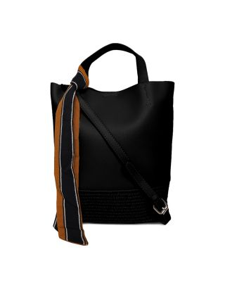 Black Rattan Shoulder Bag