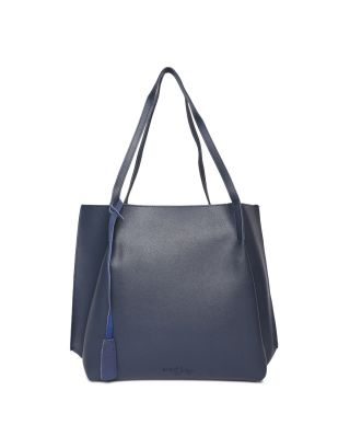 Blue Swede Handbag