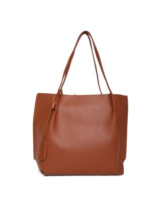 Brown Swede Handbag