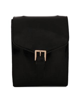Black PU Shoulder Bag