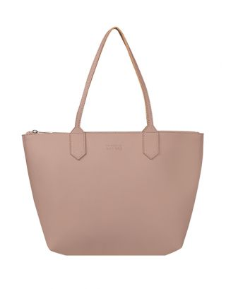 Leather Pink Rocksalt Tote Bag