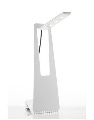 Z-Light Tall White 9W Table Lamp