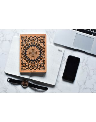 Hand Illustrated Mandala A5 All Purpose Notebook with Gift Box