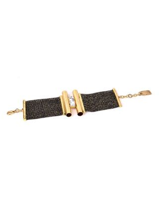 Black Gold Plated Bracelet