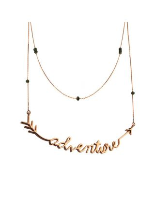 Golden Adventure Necklace