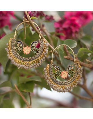 Grey Baali Earrings