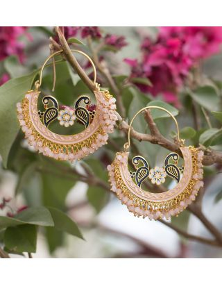 Baby Pink Baali Earrings
