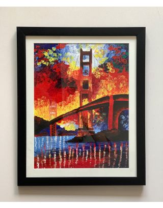 Golden Gate  - Canvas Painting