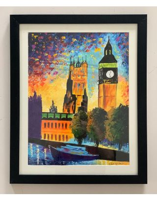 London Lights- Canvas Painting