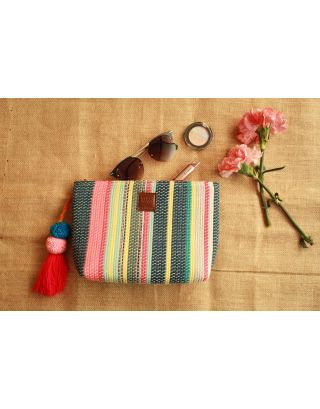 Aqua Blush Multipurpose Pouch