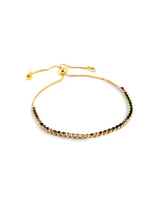 Multi colored Gold plated Bracelet