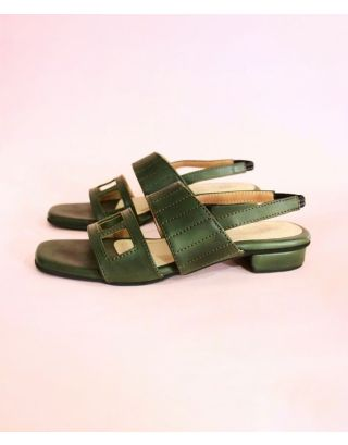 BRIA SANDALS FOREST GREEN