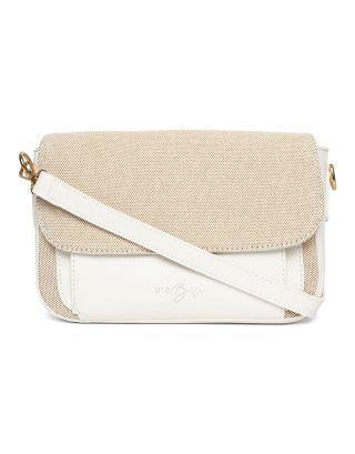 White Canvas  Bag