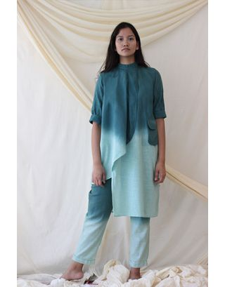 Mint Green Tunic and Pants Set