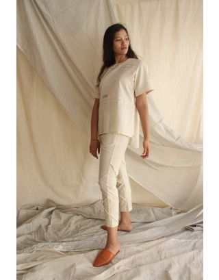 Ivory Long Top