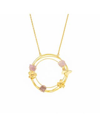 Circle of Flowers Neckpiece