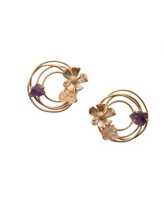 Circle of Flowers Studs