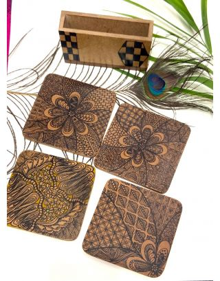 Shapes Coasters (Set of 4)