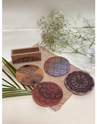 Colourful Coasters (Set of 4)