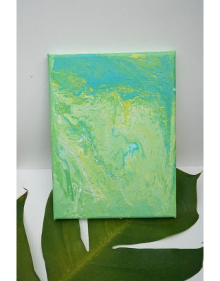 Pastel Green Wall Piece
