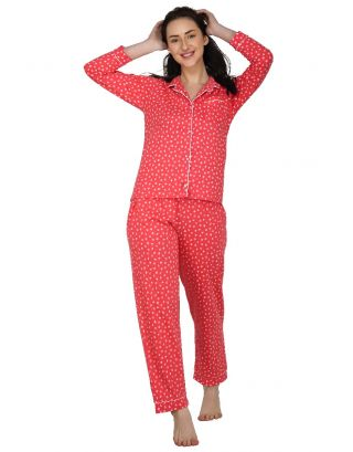 Strawberry Sundown Classic Pajama Set