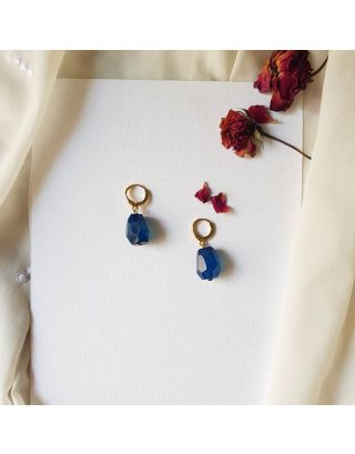 Cute Blue Earrings