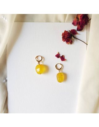 Cute Yellow Earrings