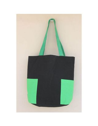 Tote Bag with Side Pockets