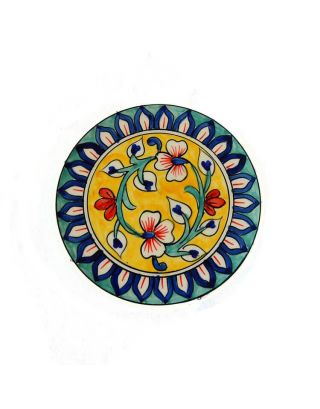 Warm Flowers Colourful Trivet