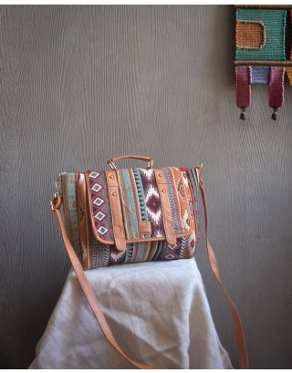 Earthy Snow Satchel Sling