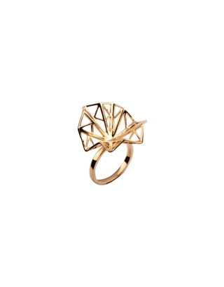 Golden Geometric Ring