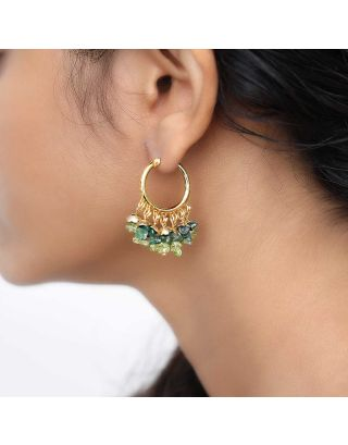 Green Chilli Baali Earrings