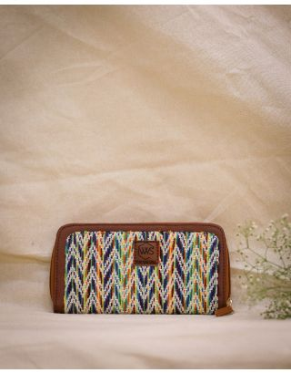 Gypsy Feathers Clutch Wallet