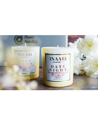 Date Night Cherry Blossom Scented Candle Jars-Set Of 2