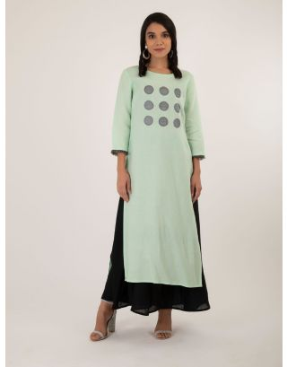 Monotone 9 Pop Circle Tunic