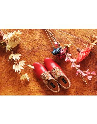 RED BLING OXFORDS