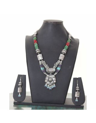 Multicolor Designer Necklace Set