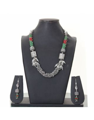 Multicolor Unique Necklace Set