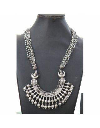 Silver Antique Necklace