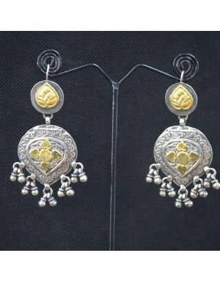 Gold and Silver Earrings