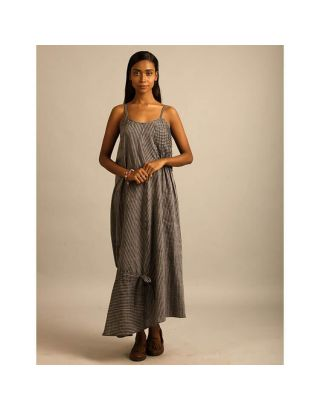 Grey Mangalgiri Maxi Dress