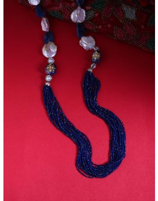 Beaded Royal Indian Necklace