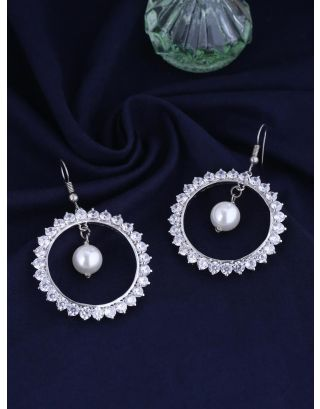 Crystal Oyster Love Earring