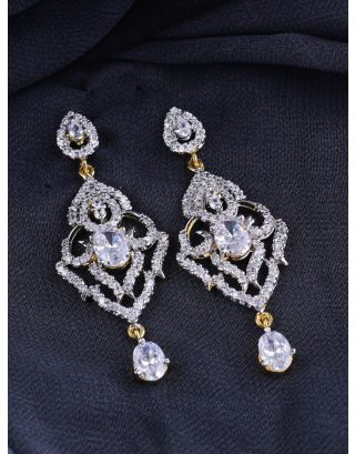 Crystal Drop Chandelier Earrings